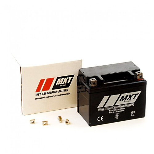 Batterie 12V 5Ah SLA4L-BS Rollerbatterie versiegelt / wartungsfrei