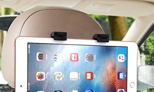 Universale Tablet Halterung, Ubegood Auto Rücksitz Kopfstütze Halterung Einstellbare Halter Für Apple iPad 2/3/4/Mini/Air, Samsung Galaxy Tab, Google Nexus und andere 6-11 Zoll Tablets