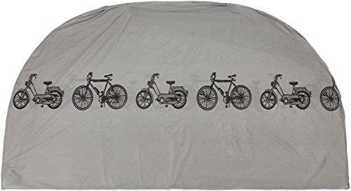 #24 *Roller Mofa Fahrrad Fahrradgarage Fahrradschutzhülle Abdeckung Hülle Plane in silber Maße 110 x 185 cm