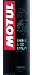 Motul 103175 E10 Shine & Go Spray, 400 ml
