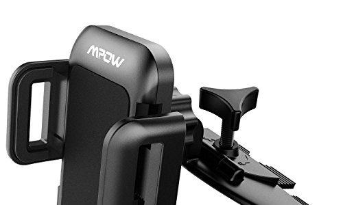 Mpow 360° CD-Schacht KFZ Halterung Handyhalterung Auto Halterung für iPhone, Samsung Galaxy, HTC, Huawei, Sony usw.