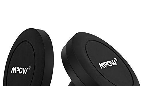 Mpow magnetische Autohalterung 1 + 1, Universal-magnetischer Autohalterung auf flachem Armaturenbrett, Universal-Handy-Autohalterung Magnetventilen-Autohalterung