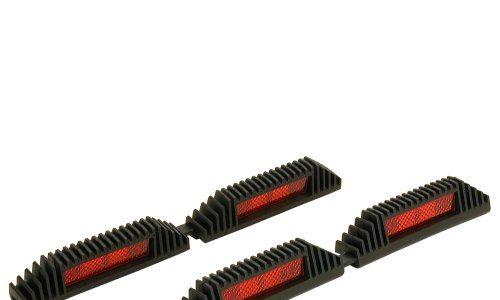 CARPOINT 2237804 Türkantenschöner 220 mm doppel schwarz