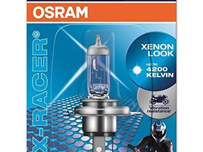 OSRAM 64185XR-01B X-RACER HS1 Halogen Motorrad-Scheinwerferlampe, Einzelblister 1 Stück