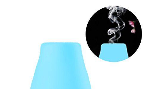 Aroma Diffuser Luftbefeuchter, Ubegood 100 ml Ultraschall Aromatherapie Diffusor mit 7 Farben Verwechselnd LED Licht Humidifier für Haus Yoga Büro Spa Schlafzimmer Babyzimmer Konferenzraum