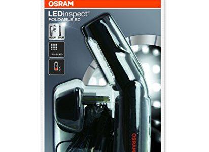 OSRAM LEDIL201 LEDinspect FOLDABLE 80, wiederaufladbare LED Inspektions- und Werkstattlampe, Arbeitsleuchte mit Akku, Faltschachtel 1 Stück