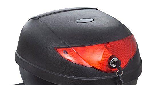 vidaXL Motorradkoffer Top Case Roller Motorrad Koffer Motorradtasche Rollerkoffer 36L