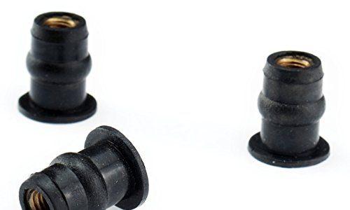 M5 Gummimuttern
