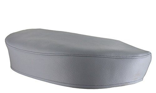AKF Sitzbezug glatt, grau – für Simson SR4-1 Spatz