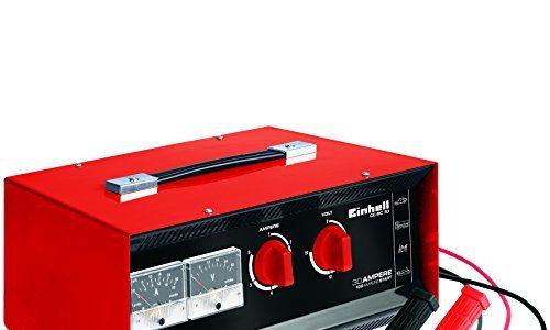 Einhell Batterie-Ladegerät CC-BC 30 für Batterien von 3 bis 400 Ah, Ladespannung wählbar 6 V/12 V/24 V, Volt- und Amperemeter, Fernstartkabel, Tragegriff