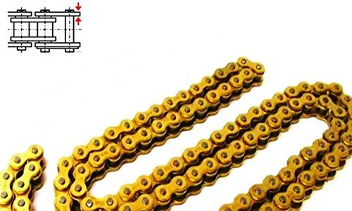 Antriebskette GOLD Kette mit Kettenschloss 420 x 122-1/2×1/4 für Simson S50 S51 S70 Enduro 10-052/1