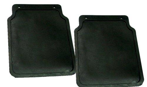 Paar 2Stk Schmutzlappen Spritzschutz Schmutzfänger Spritzlappen für Auto Anhänger Trailer Kotflügel 200×230 , iapyx®