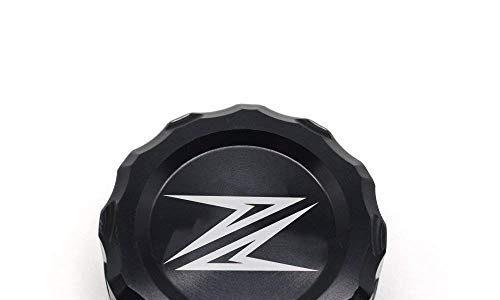 Motorrad Hintere Brems Flüssigkeit Sbehälter Kappe für Kawasaki Z900 2016 Kawasaki Z800 2013-2015 Kawasaki Z750 750R Z1000 2009-2016 Schwarz