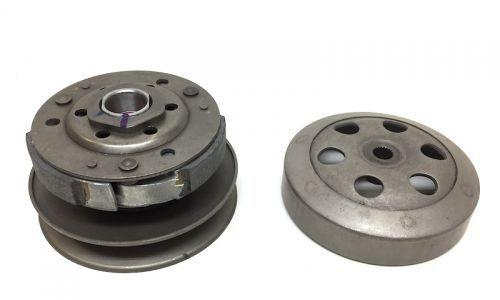 107mm Kupplung Wandler Kupplungsglocke für Minarelli 50ccm z.B. Yamaha Aerox, Jog R, Neos, MBK Nitro Ovetto, Aprilia SR 50