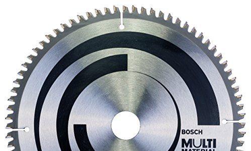 Bosch Professional Kreissägeblatt für Multi Material, AußenØ: 254mm, Bohrung: 30mm, Zubehör für Kapp-, Tischkreissägen