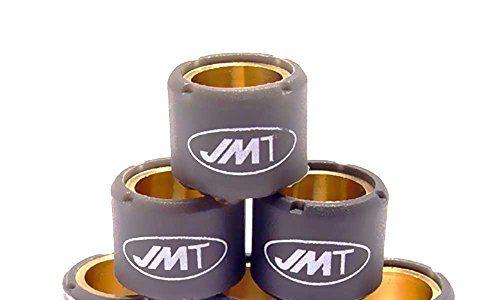 JMT Variomatik-Rollengewichte, 4 g, 15 x 12 mm, 6 Stück.