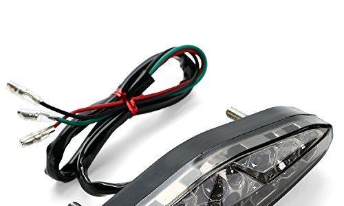 cicmod motorrad 15led r cklicht bremslicht. Black Bedroom Furniture Sets. Home Design Ideas