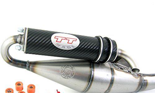 Leovince TT carbon, Tuning Sport Auspuff Peugeo-t Speedfight 3 50 / Auspuff Peugeo-t Speedfight 4 50ccm 2-Takt