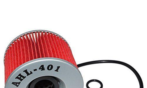 AHL 401 Ölfilter für KAWASAKI ZR750 ZEPHYR 750 1991-1999 2001-2006/ZR7 750 1999-2003