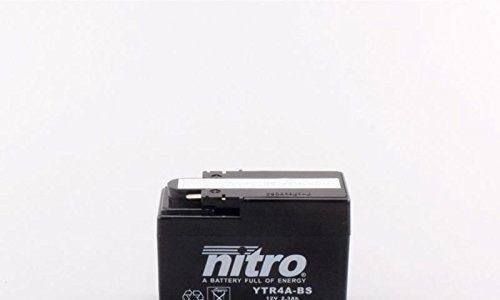 Batterie für HONDA 50ccm SJ 50 Bali KAT Baujahr 1994-2001 YTR4A-BS
