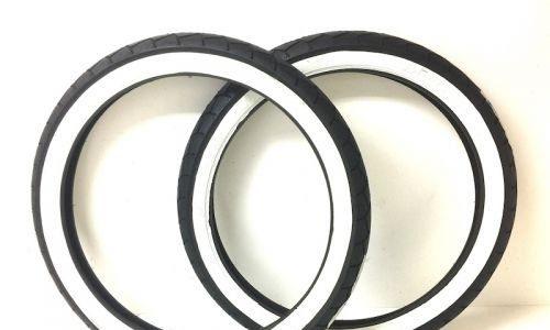 2x Mitas Weisswand Reifen 2,25-17 Weißwandreifen Mofa Moped Mokick 2 1/4 x 17 Zoll