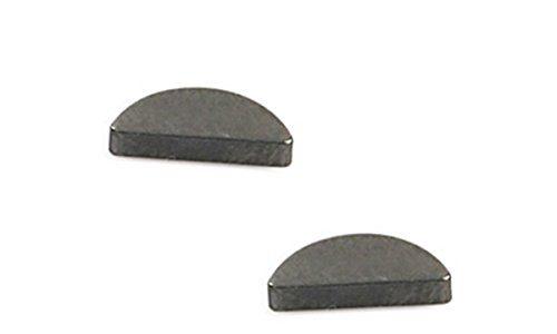 2x Scheibenfeder – Dick 3×3,7 – Keil Halbmond Kurbelwelle Primärritzel für Simson S51 Schwalbe 4-069