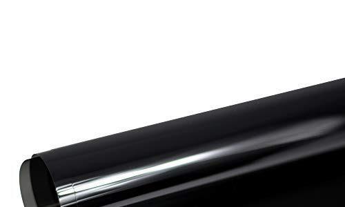 Solar Screen® BLACK PLUS Scheibentönungsfolie 95 C Tönungsfolie für Auto Scheiben 95% Schwarz | 101 cm Breite inkl. ABG Auto-Tönungsfolie