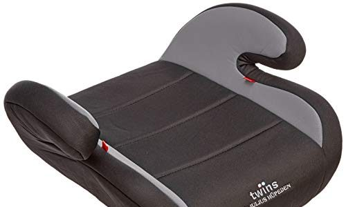 Twins Autositzerhöhung, Gruppe 2/3, ab 3,5 bis 12 Jahre, grau