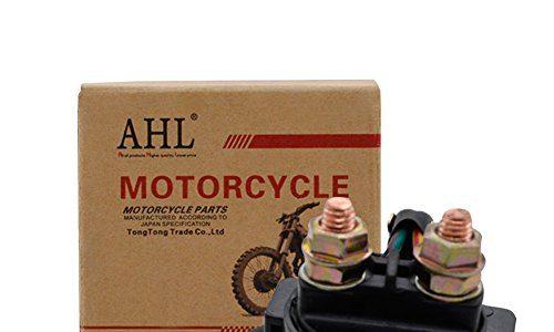 AHL Motorrad Anlasserrelais Starterrelais Magnetschalter für YAMAHA WARRIOR 350 YFM350 1987-2004