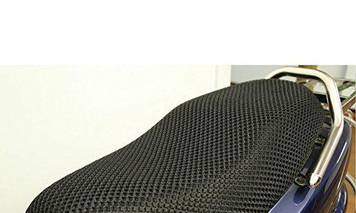 GeKLok Gel-Fahrradsitzbezug, Motorradschutz, Atmungsaktiv, Rutschfest, strapazierfähig, Netzstoff, für Roller, Motorrad, Sitzbezüge, wasserdicht, 3D, Atmungsaktiv, Netzgewebe, für Motorräder, Large