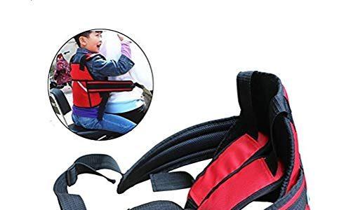 Kinder Motorrad Gurtzeug Stil Sicherheitsgurte Baby Fallschutz,Einstellbare Länge,Geeignet für Kinder zwischen 2 und 12 Jahren