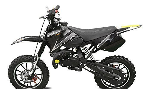 Coyote 49cc 10″ Neues Design Bike Cross Pocket Mini quad atv Blau