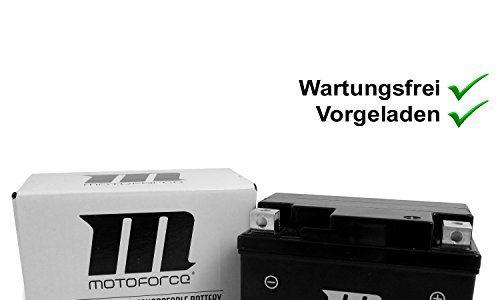 Wartungsfreie Batterie YT4A-3 5Ah Vespa Primavera 50 2T 13- ZAPC532, LX 50 2T ZAPC381, ET2 50 00- ZAPC381, Yamaha Aerox 50-98 5BR Motoforce