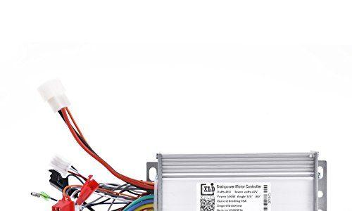 Dioche Motor Brushless Controller, Bürstenloser Controller 48 V 500 Watt Brushless Motor Sinus Controller für Elektrische Fahrrad Roller