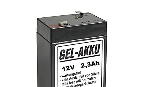 12V Vlies Batterie 2,3 Ah für Simson Moped's inkl. 7,50€ Pfand 1-047