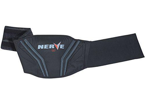 L-110cm – schwarz – Motorrad Nierengurt Push Herren Damen Kinder Roller Wärme Schutz Verstärkt Klettverschluss