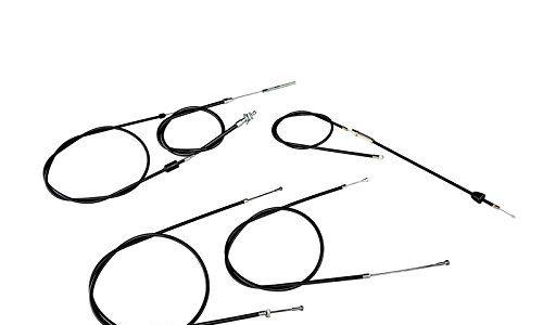 MOTOFLEX Set: Bowdenzug in Schwarz – Simson SR50, SR80