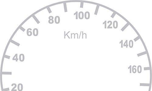 Tachoaufkleber km/h für Harley Davidson verschieden Modelle 92 mm Tanktachos
