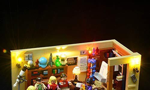 Briksmax Led Beleuchtungsset für The Big Bang Theory, Kompatibel Mit Lego 21302 Bausteinen Modell – Ohne Lego Set