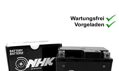 Wartungsfreie Gel Batterie 5Ah Explorer Race GT50 Limited, Spin GE50 Blue Edition, Hi 50, City Star YY50QT, Retro Star YY50QT-15 YT4A-3