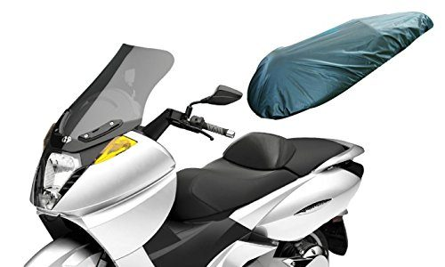 A-pro Universal Motorcycle Motorbike Nylon Heavy Duty Waterproof Seat Covers Black L