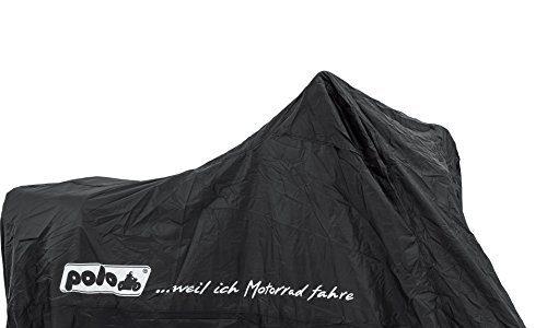 Polo Motorrad-Wetterschutz, Motorrad-Abdeckplane Outdoor Abdeckplane Superdeal universal 240/140/93 cm, Unisex, Multipurpose, Ganzjährig, schwarz