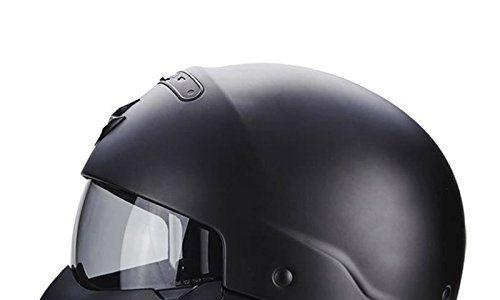 Scorpion 82-100-10-04 Motorradhelm – Exo Combat, Noir, Größe M