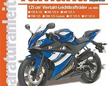 Yamaha 125-ccm-Viertakt-Leichtkrafträder ab Modelljahr 2005: YBR 125 Allrounder,  XT 125 R Enduro, XT 125 X Supermoto, YZF-R Supersportler