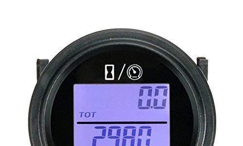 motor atv utv dirtbike motobike motocycle outboards schneemobil pitbike pwc marine – schiff wasserdicht – Runleader RL-HM005L induktive tachometer mit stunde zähler für alle benzin