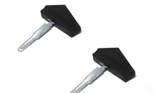 2x Zündschlüssel Schlüssel für Moped Mofa Hercules Zündapp Solo Puch