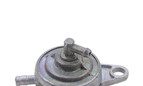 GOOFIT 3-Wege-Benzinhahn Gas Benzinhahn Vacuum Low-Tension-Abschalter Pumpe für GY6 50cc 60cc 80cc 125cc 150cc Vergaser Chinese ATV Go Kart-Moped-Roller-Teile