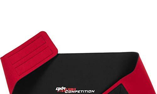 DXR Nierenschutz, Motorradnierengurt, Nierengurt Universal Nierengurt für Herren und Damen, 3 mm starker Nierengurt, leicht und flexibel, mit Klettverschluss, Schwarz, L
