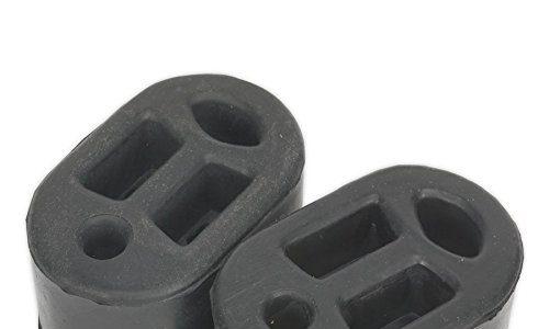 Sealey EX01 Auspuff-Befestigungsgummis L70 x T45 x H37 2 Stück