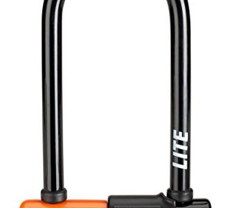Kryptonite Evolution LITE Mini-6 7×15, 2cm Fahrradschloss, Orange, 7 x 15,2 cm